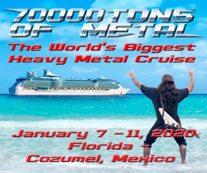 70000 Tons of Metal - De 1 à 5 de Fevereiro de 2018