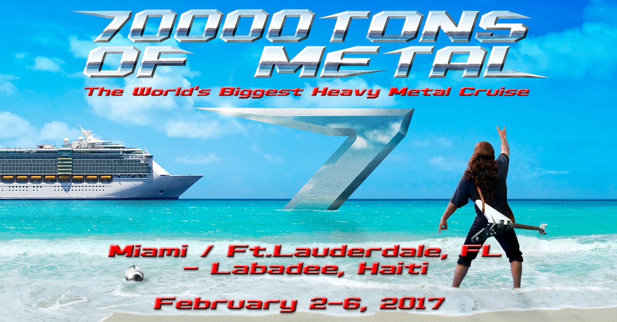 70000tons Of Metal The World S Biggest Heavy Metal Cruise