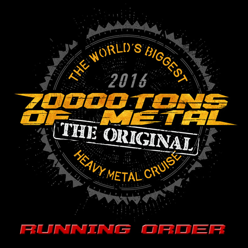 70000tons of metal the world 39 s biggest heavy metal cruise for Round the world cruise 2016