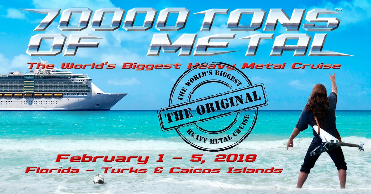 70000TONS OF METAL - The World's Biggest Heavy Metal Cruise
