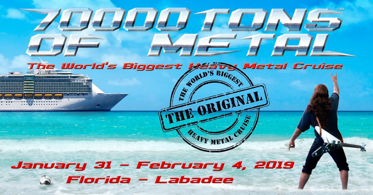 Sold Out | 70000TONS OF METAL - The World\'s Biggest Heavy Metal Cruise