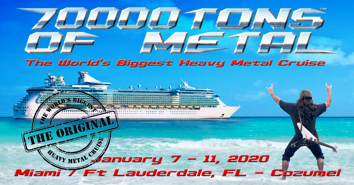 Best New Metal Bands 2020 HOME | 70000TONS OF METAL   The World's Biggest Heavy Metal Cruise